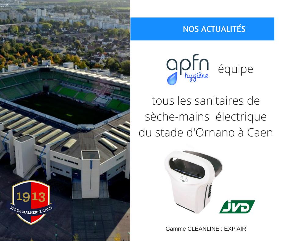 Stade d'Ornano - apfn hygiène